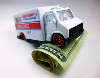 Emergência financeira Imagens de Stock
