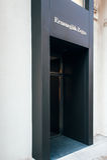 Emernegildo Zegna商店facadein维也纳,奥地利 免版税图库摄影