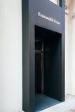 Emernegildo Zegna store facadein Vienna, Austria Royalty Free Stock Photography