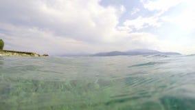 Emersion (no mar para o curso de mergulho) filme
