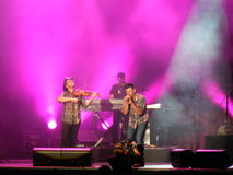 Emerson Drive in Concert Stock Images