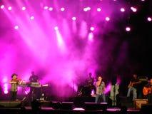 Emerson Drive no concerto Fotografia de Stock