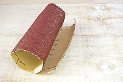 Emery paper - sandpaper Royalty Free Stock Image