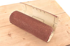 Emery paper - sandpaper Royalty Free Stock Images
