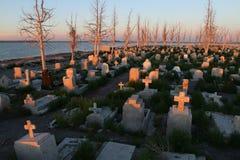 Сemetery in Dead City Epecuen Stock Photography