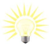 Emettere luce-lampada Fotografie Stock