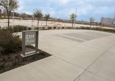 EMF plac, obywatela ACEP kwatery główne, Dallas, Teksas zdjęcia stock