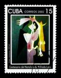 Emi Cosinca 1950, centenaire de la naissance du serie de Wilfredo Lam, image libre de droits