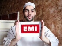 EMI Nagrywa loga Zdjęcie Stock
