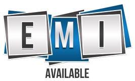 EMI Three Blocks Foto de archivo libre de regalías