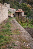 Emialon, ущелье Lousias, Пелопоннес, Греция Стоковая Фотография RF