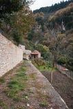 Emialon, ущелье Lousias, Пелопоннес, Греция Стоковые Изображения