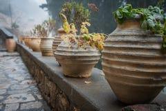 Emialon, gola di Lousias, il Peloponneso, Grecia Fotografia Stock