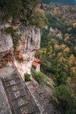 Emialon Lousias klyfta, Peloponnese, Grekland Royaltyfria Bilder
