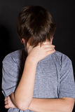Emicrania adolescente Fotografie Stock