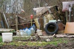 The emigrants  slums Royalty Free Stock Photos
