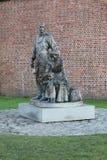 The Emigrants statue Albert Dock Liverpool Stock Photo