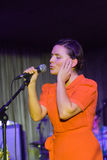 Emilíana Torrini, Stage Club, Hamburg, 20.10.2008 Stock Photos