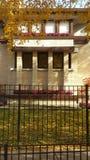 Emil Bach House, Chicago & x28; Frank Lloyd Wright & x29; royalty-vrije stock afbeeldingen