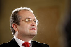 Emil Boc - prime minister of Romania Royalty Free Stock Photo