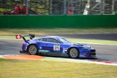 Emil Frey Jaguar G3 V8 at Monza Royalty Free Stock Photos