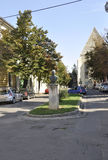 Emil Racovita Monument from Cluj-Napoca from Transylvania in Romania Stock Photography