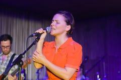 Emilíana Torrini, Stage Club, Hamburg, 20.10.2008 Stock Photo