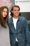"""Emile Hirsch. & Guest """"Speed Racer"""" Premiere Nokia Theater Los Angeles, CA April 26, 2008 Stock Photo"""