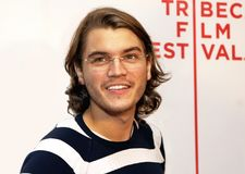 Emile Hirsch. Actor Emile Hirsch arrives for the screening of `Speed Racer` at the 7th Annual Tribeca Film Festival in Lower Manhattan on May 3, 2008 Royalty Free Stock Image