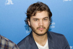 Emile Hirsch. BERLIN, GERMANY - FEBRUARY 13: Emile Hirsch attends the 'Prince Avalanche' Photocall during the 63rd Berlinale International Festival at the Grand Stock Image