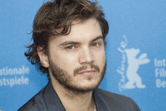 Emile Hirsch. BERLIN, GERMANY - FEBRUARY 13: Emile Hirsch attends the 'Prince Avalanche' Photocall during the 63rd Berlinale International Festival at the Grand Stock Photo