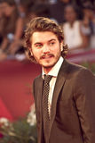 Emile Hirsch. VENICE, ITALY - SEPTEMBER 08: Actor Emile Hirsch attends the 'Killer Joe' premiere during the 68th Venice Film Festival at Palazzo del Cinema on Stock Image