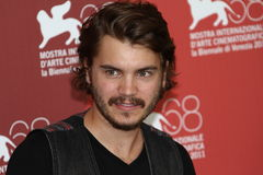 Emile Hirsch. VENICE, ITALY - SEPTEMBER 08: Actor Emile Hirsch poses at the 'Killer Joe' photocall at the Palazzo del Cinema during the 68th Venice Film Festival Royalty Free Stock Photo