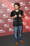 Emile Hirsch. VENICE, ITALY - SEPTEMBER 08: Actor Emile Hirsch poses at the 'Killer Joe' photocall at the Palazzo del Cinema during the 68th Venice Film Festival Stock Photo