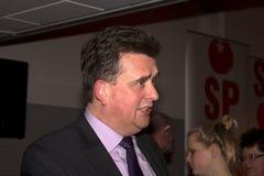 Emile Roemer przy partyjnym spotkaniem w Meppel Obrazy Stock
