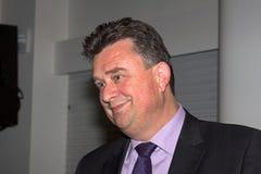 Emile Roemer przy partyjnym spotkaniem w Meppel Zdjęcia Stock