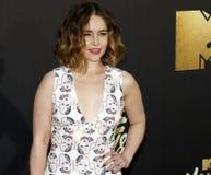 Emilia Clarke Immagine Stock Libera da Diritti