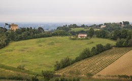 Emilia Romagna countryside view Royalty Free Stock Photos