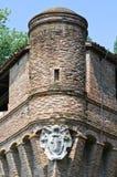 Emilia-Romagna dziejowy kasztel. Włochy. zdjęcia royalty free