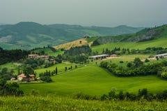 Emilia Romagna Hills Foto de archivo libre de regalías
