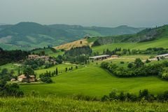 Emilia Romagna Hills Royalty Free Stock Photo