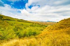 Emilia Romagna, Italië, geulen en platteland Royalty-vrije Stock Afbeeldingen
