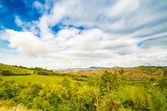 Emilia Romagna, Italië, geulen en platteland Royalty-vrije Stock Afbeelding
