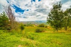 Emilia Romagna, Italië, geulen en platteland Royalty-vrije Stock Foto