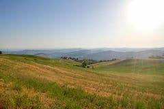 Emilia Romagna landscape Royalty Free Stock Photo