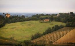 Emilia Romagna-Landschaftsansicht Stockbild