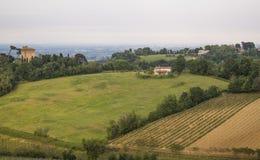 Emilia Romagna-Landschaftsansicht Lizenzfreie Stockfotos