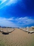Emilia Romagna-Strandurlaubsort Lizenzfreie Stockbilder