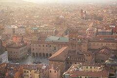 Emilia romagna Włochy bolońskiego widok Obrazy Stock