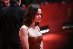 Emilia Schuele во время Berlinale 2018 Стоковые Фото